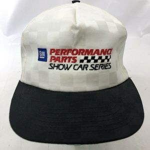 GM Performance Parts Hat Men's Snapback Vintage